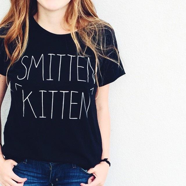 ILY Smitten Kitten Tee